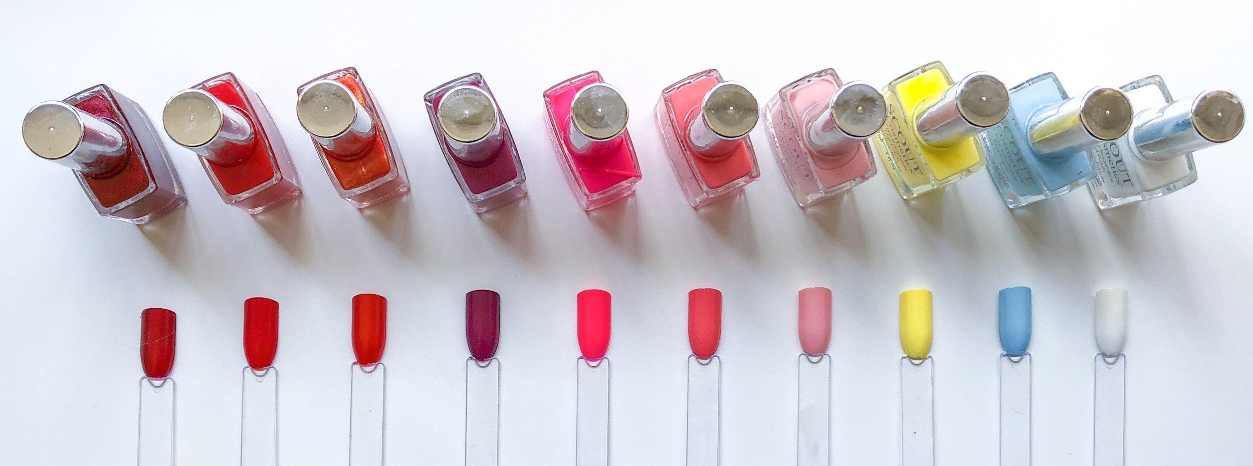 Marisa Robinson Beauty Scout Cosmetics Nail Polish Swatches