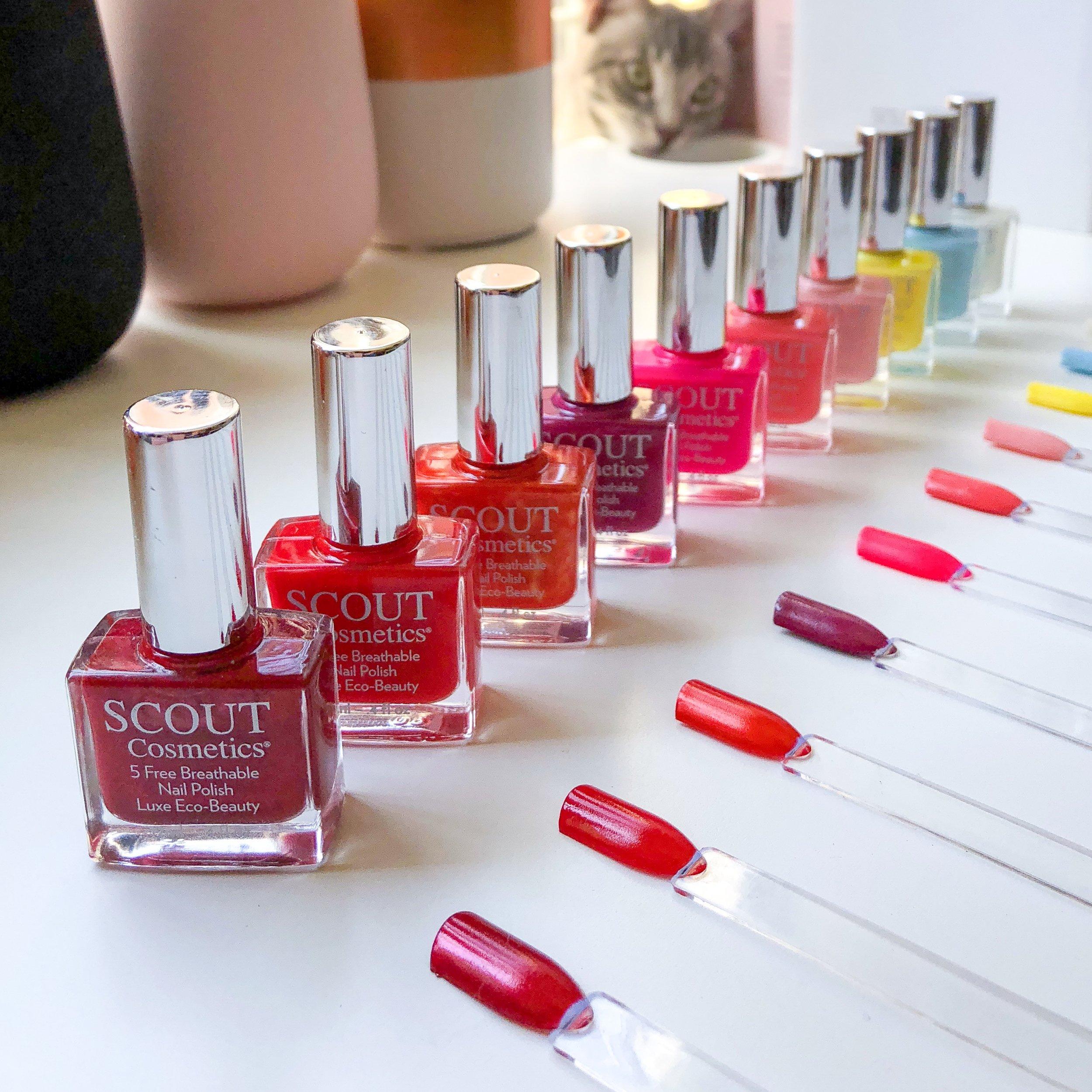 Marisa Robinson Beauty Scout Cosmetics Nail Polishes