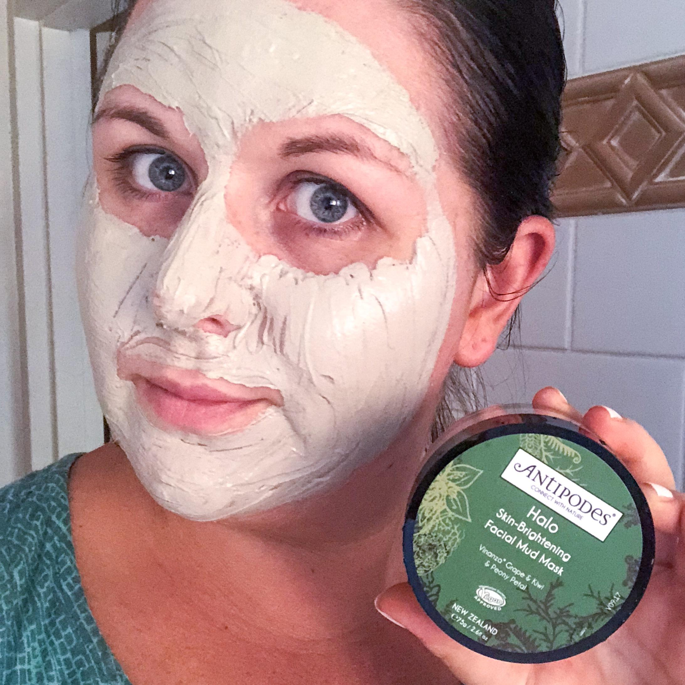 Antipodes Halo Skin Brightening Mud Mask Marisa Robinson Beauty
