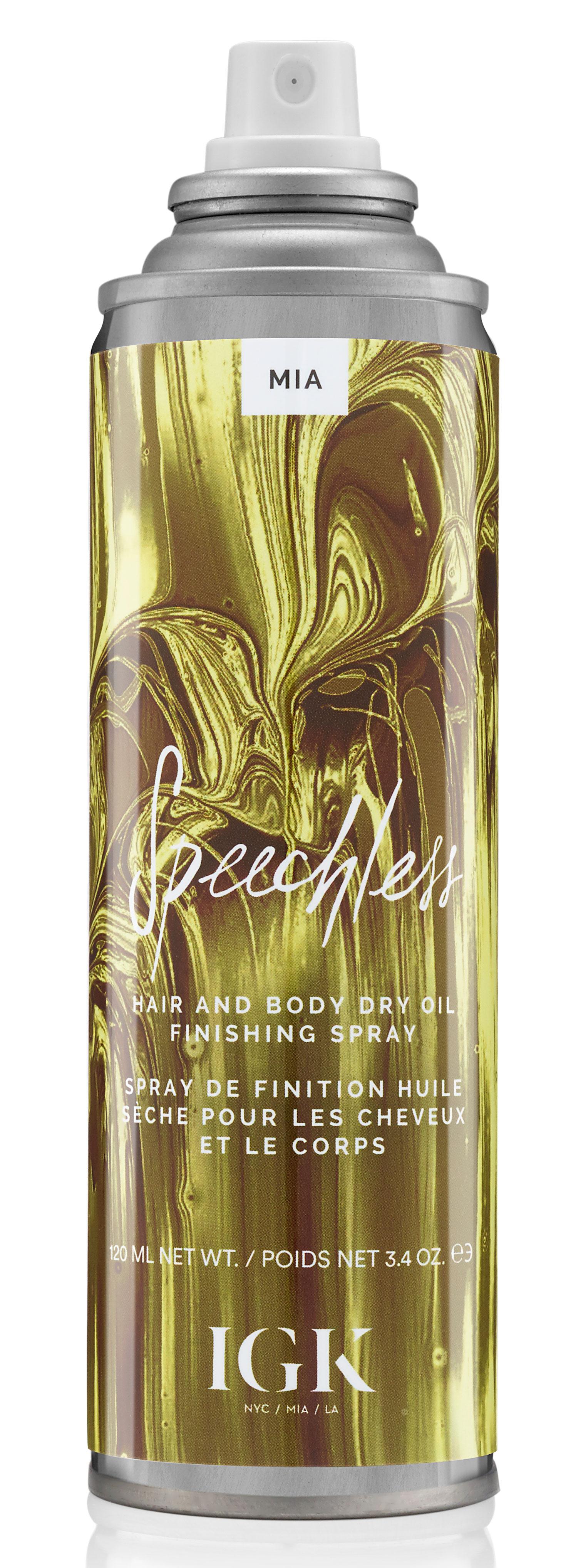 IGK SPEECHLESS Hair and Body Dry Oil