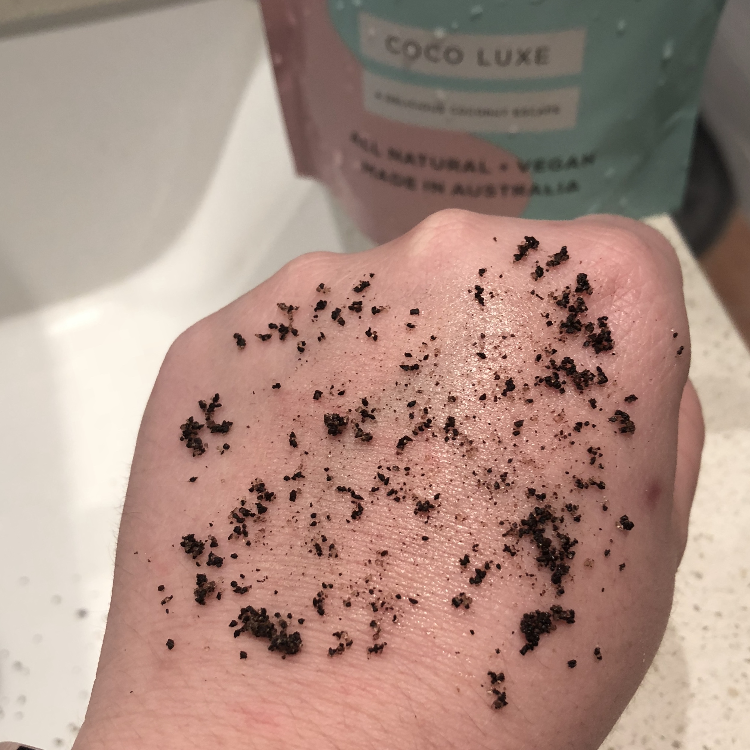 Body Blendz Scrub Review