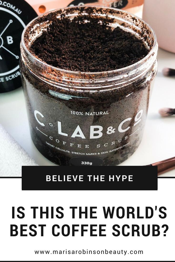 C-Lab & Co Coffee Scrub Review