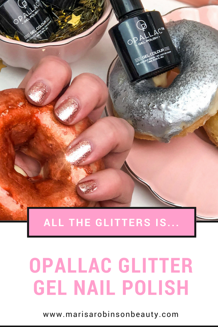 Opallac Glitter Gel Nail Polishes Review