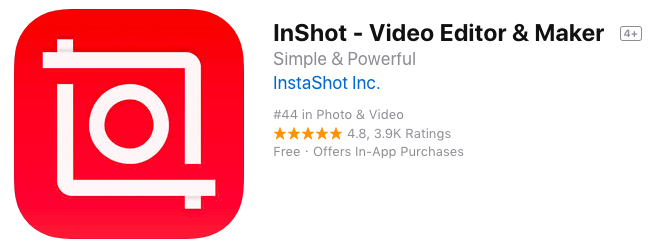 Inshot App for Insta Stories