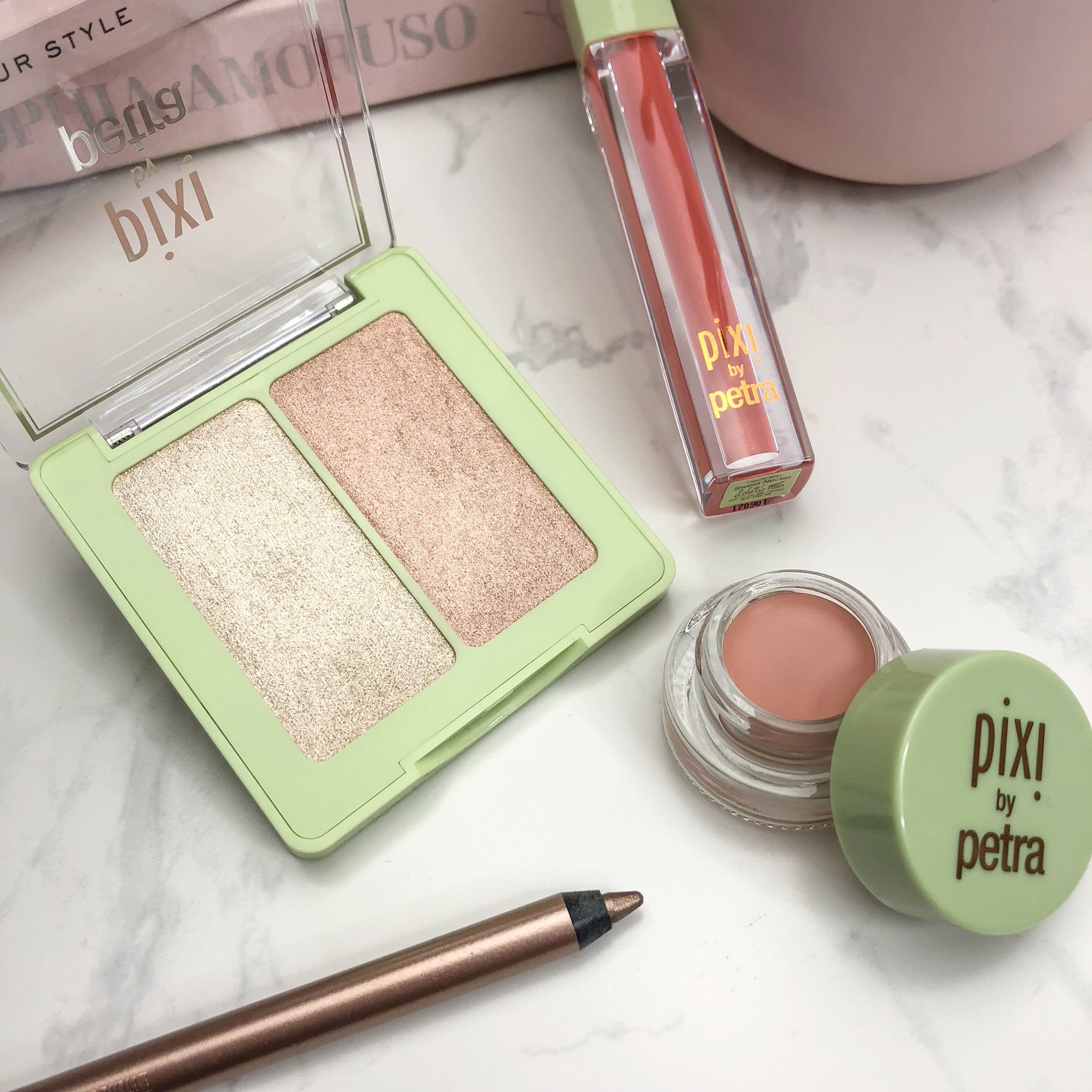 Pixi Beauty Makeup Review Swatches