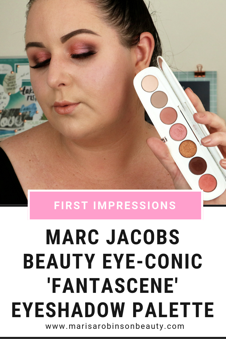 Marc Jacobs Beauty Eyeconic Eyeshdow Palette Fantascene - Marisa Robinson Beauty