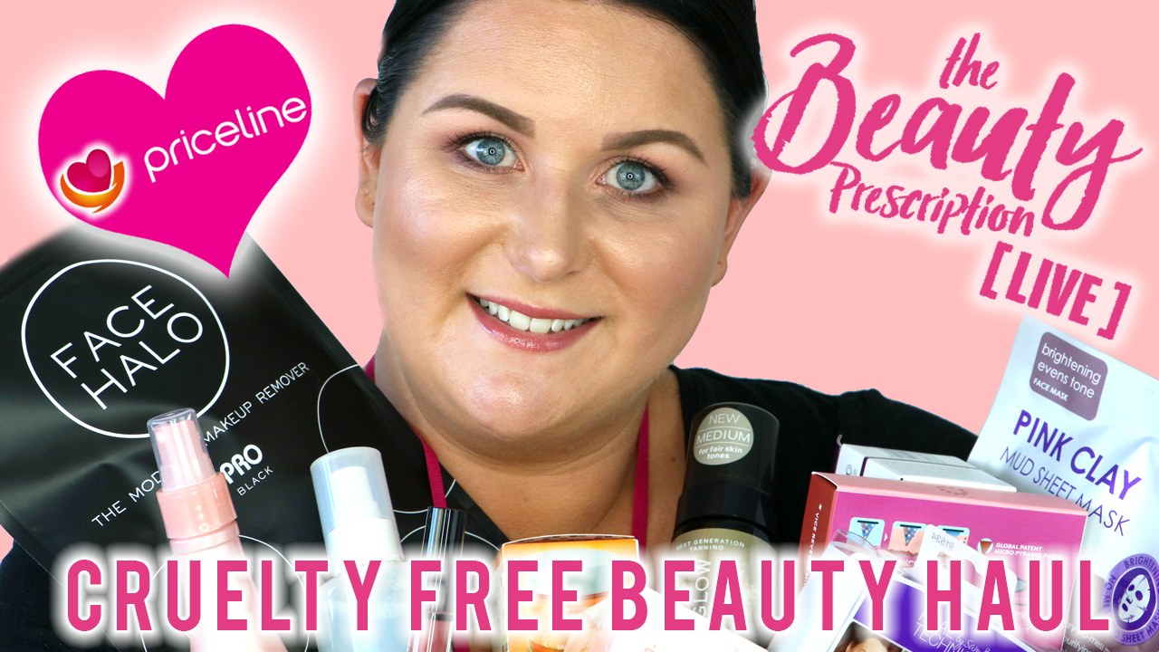 The Priceline Beauty Prescription Live September 2018  Cruelty Free Recap - Marisa Robinson Beauty