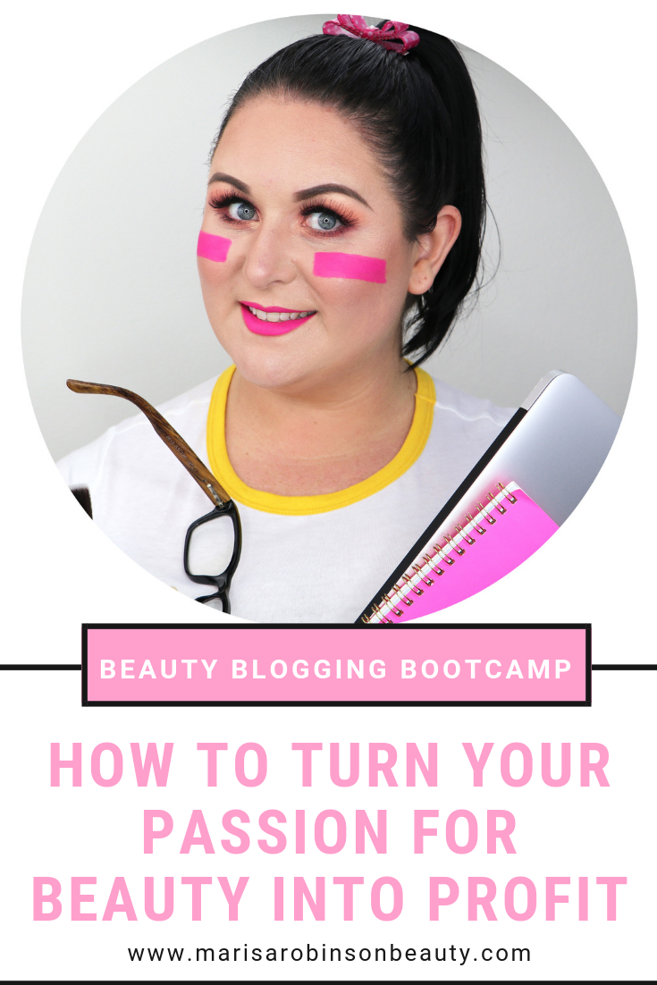 Beauty Blogging Bootcamp - how to turn your passion for beauty into profit