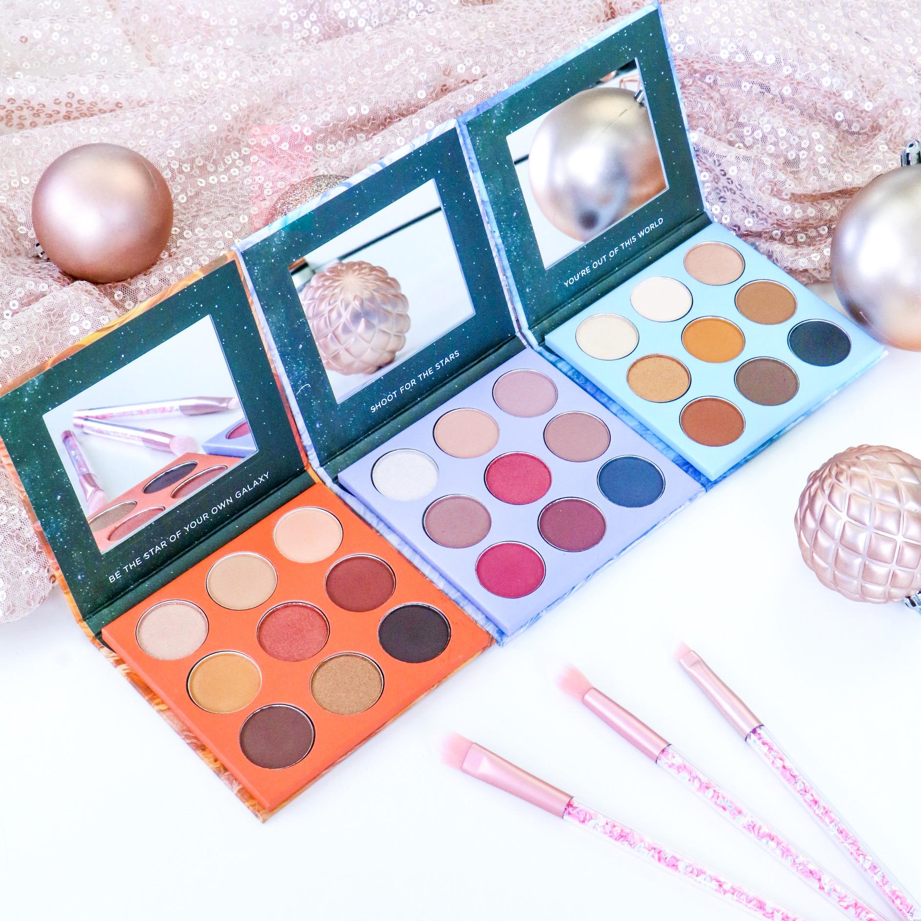Designer Brands Holiday Eyeshadow Palettes