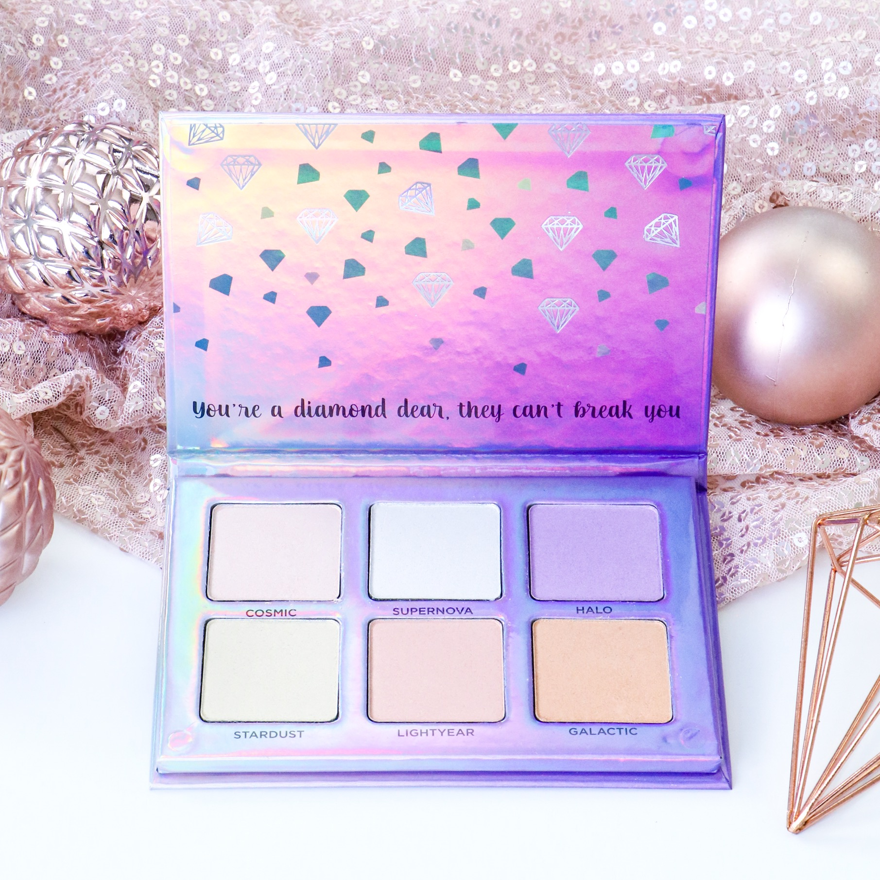 Designer Brands Oh My Glow Highlight Kit - Cruelty Free Gift Guide