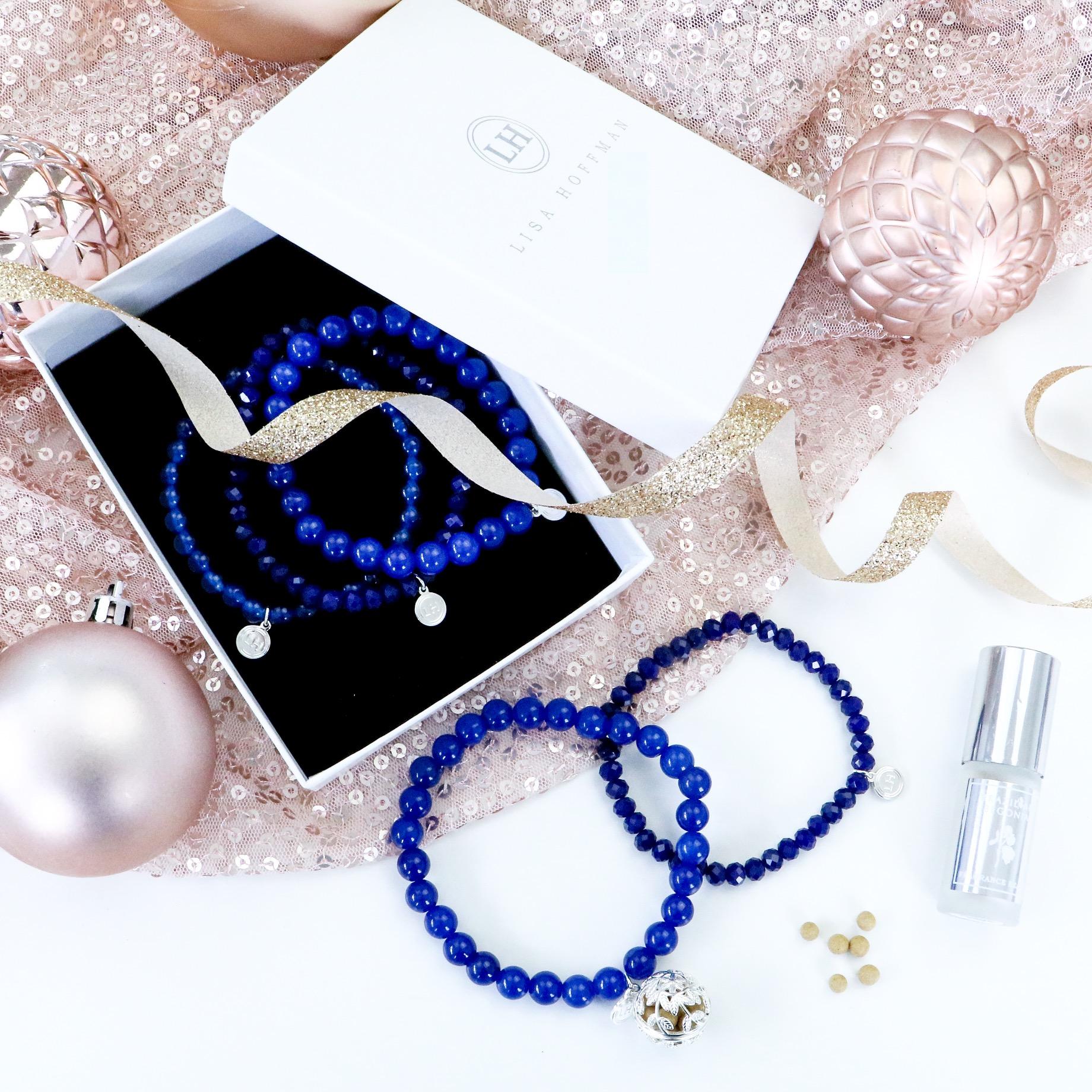 Lisa Hoffman 5 Stack Crystal & Gemstone Bracelet - Cruelty Free Gift Guide