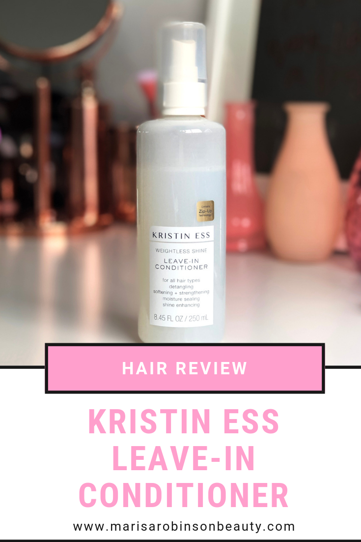 Kristin Ess Leave at Priceline - Leave In Conditioner Review