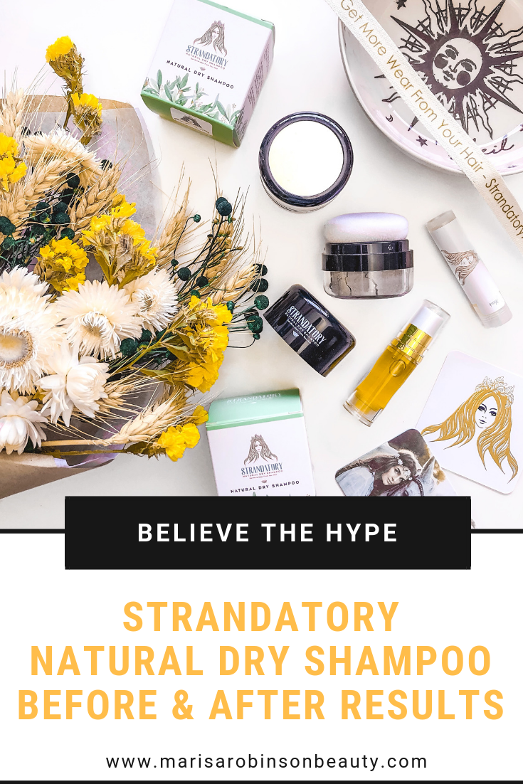 Strandatory Natural Dry Shampoo Review
