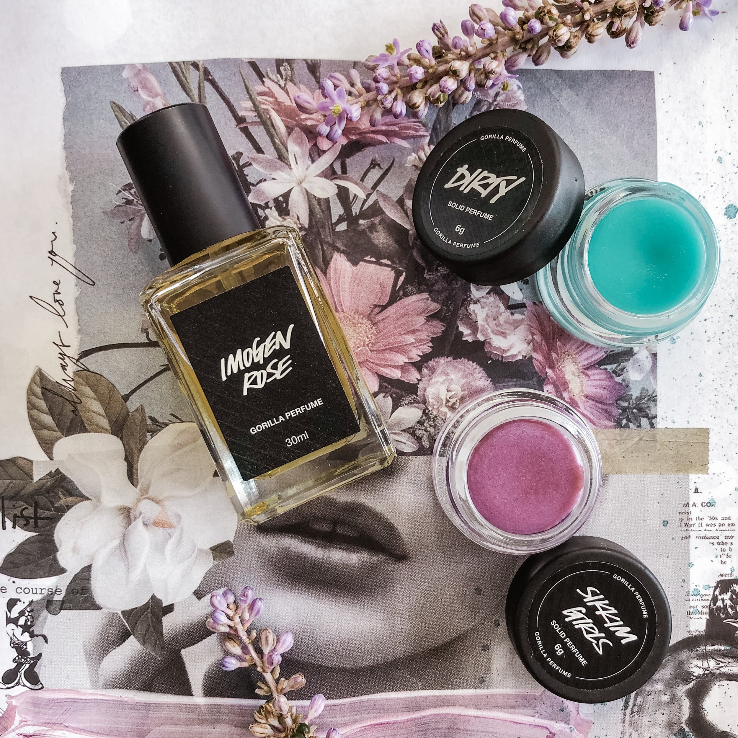 LUSH Fragrances - Cruelty Free Perfume Guide - Marisa Robinson
