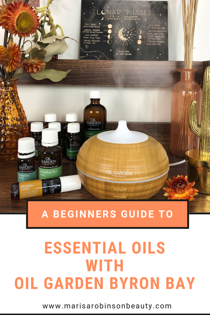 A beginners guide to Essential Oils - Marisa Robinson Beauty