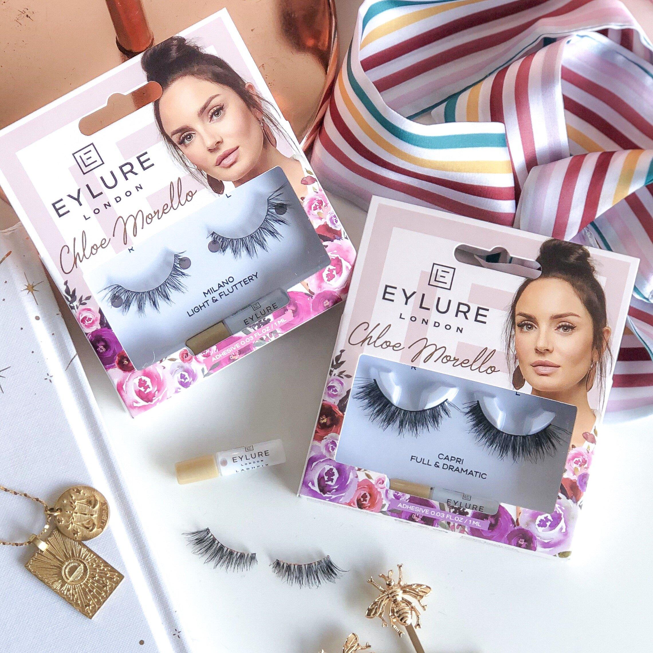 Eylure Lashes x Chloe Morello collection - Marisa Robinson Beauty