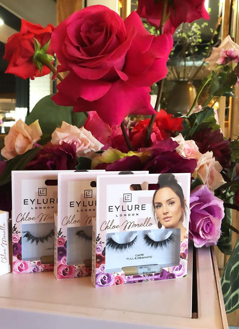 Eylure x Chloe Morello Lash Launch