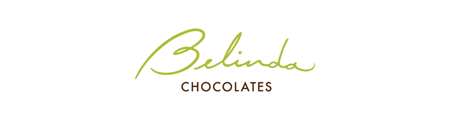 Signature-based logo for Belinda Chocolates