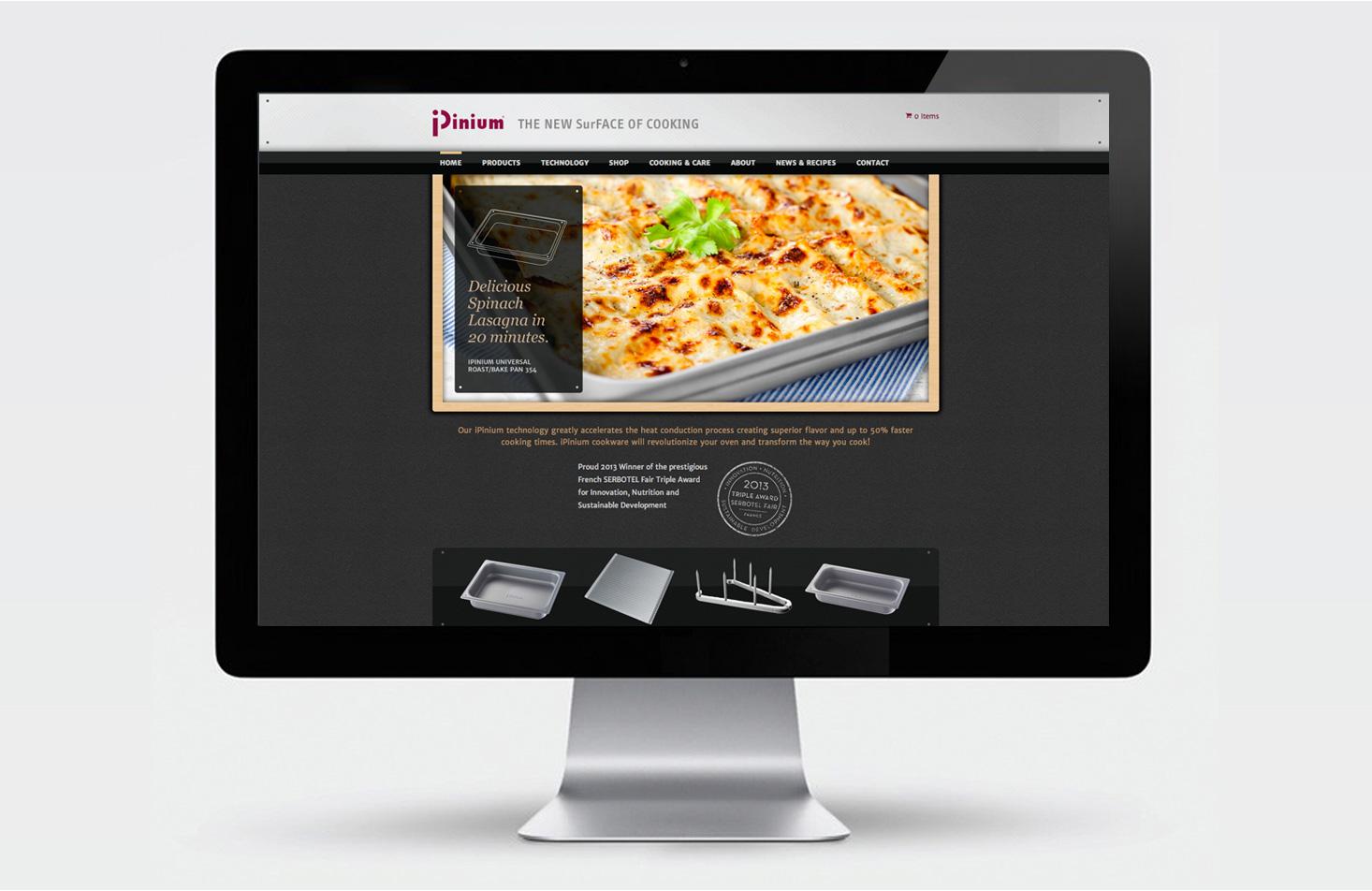 iPinium USA website