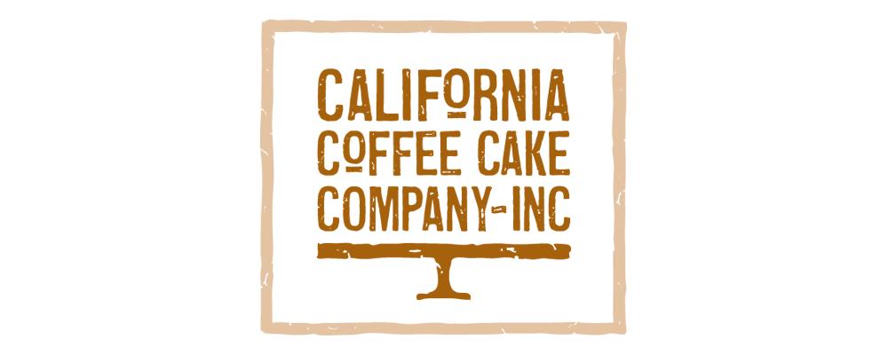 California Coffee Cake Branding