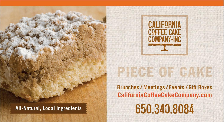 Tableskirt design for California Coffee Cake Company