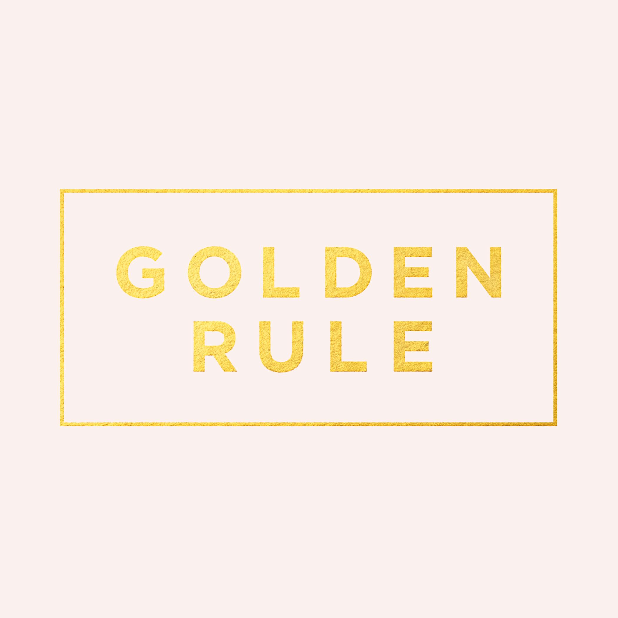 Golden Rule Instagram
