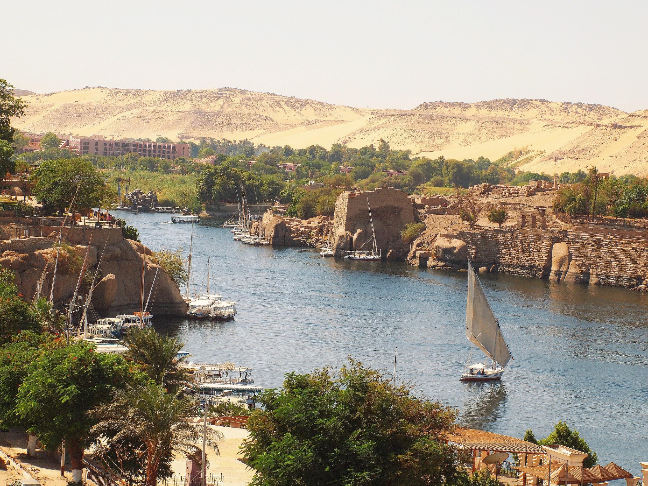 Aswan-Nile