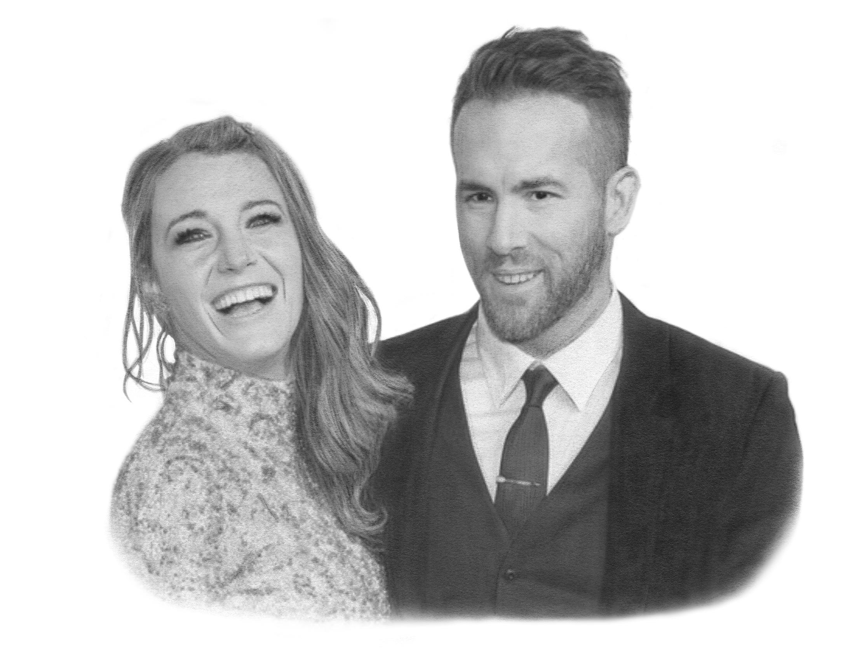 PORTRAIT — BLAKE LIVELY & RYAN REYNOLDS