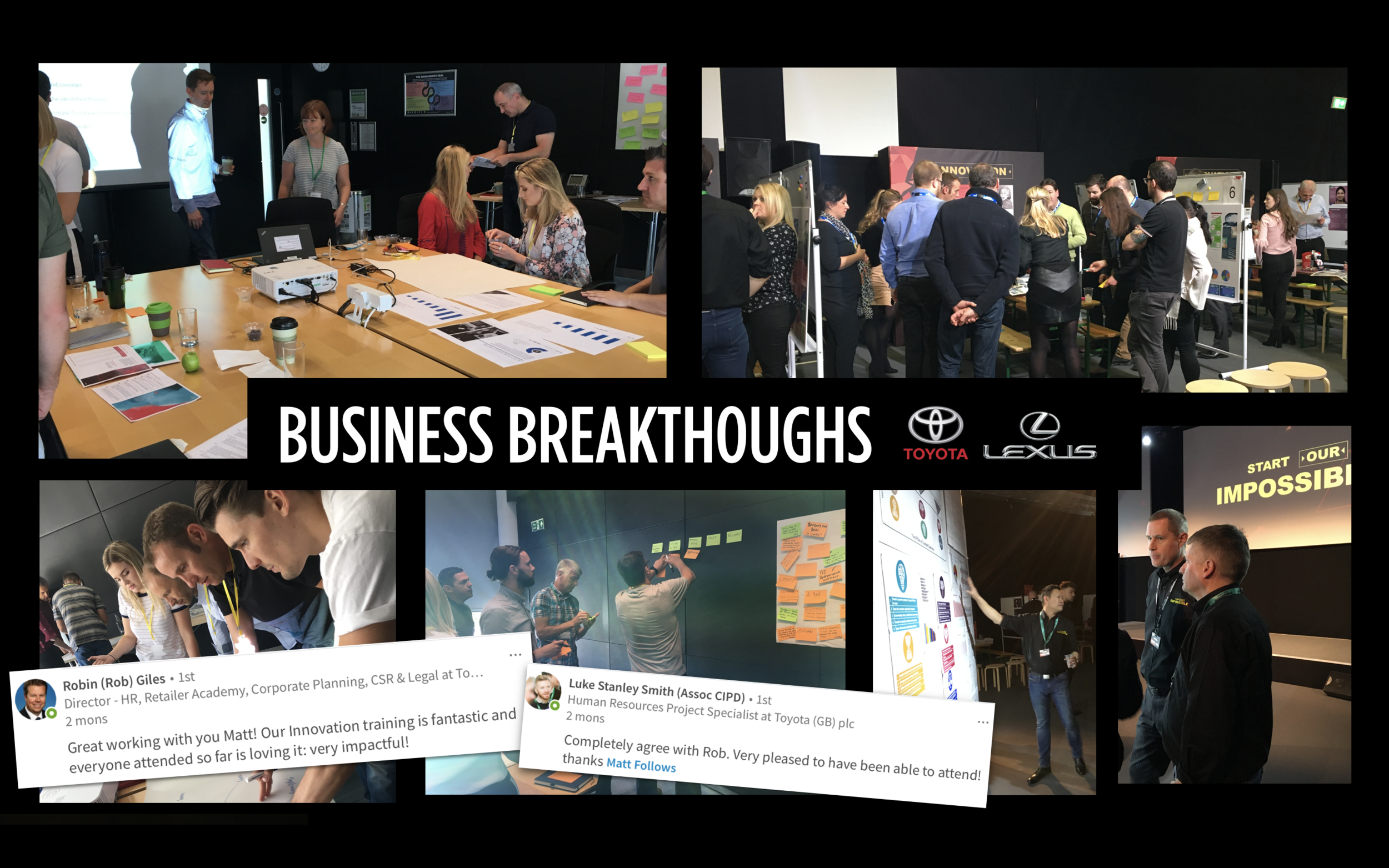 'Innovate and Accelerate' for over 300 Breakthrough Thinkers at Toyota/Lexus 2017/18
