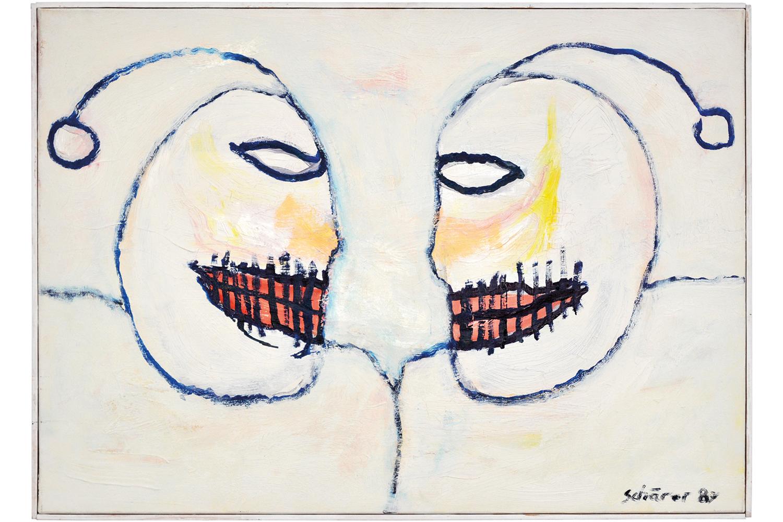 Die Abmachung / Deux têtes, 1987