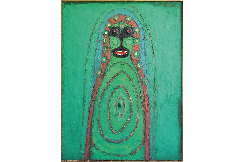 Grüne Madonna, 1969
