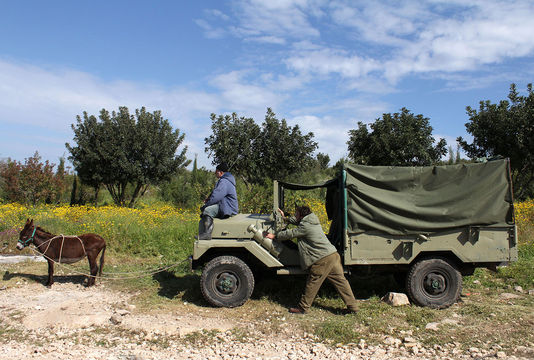 """Still from  """"Raz and Radja""""  (2012), Dir.   Yona Rozenkier     