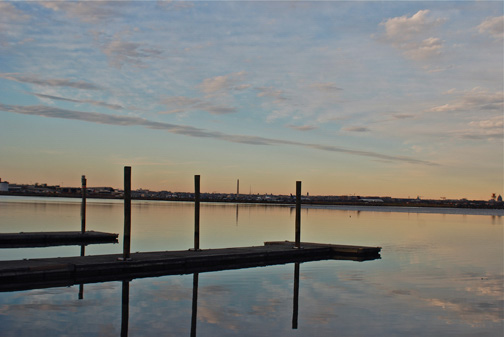 Stillness  - the Potomac river, Alexandria, Virginia
