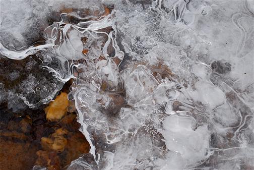 Ice  - Donaldson's Run, Arlington, Virginia