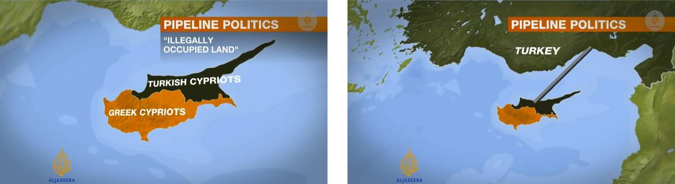 "Graphics from Al Jazeera English Video Report, ""Pipeline won't benefit the Greeks""  (2013)"