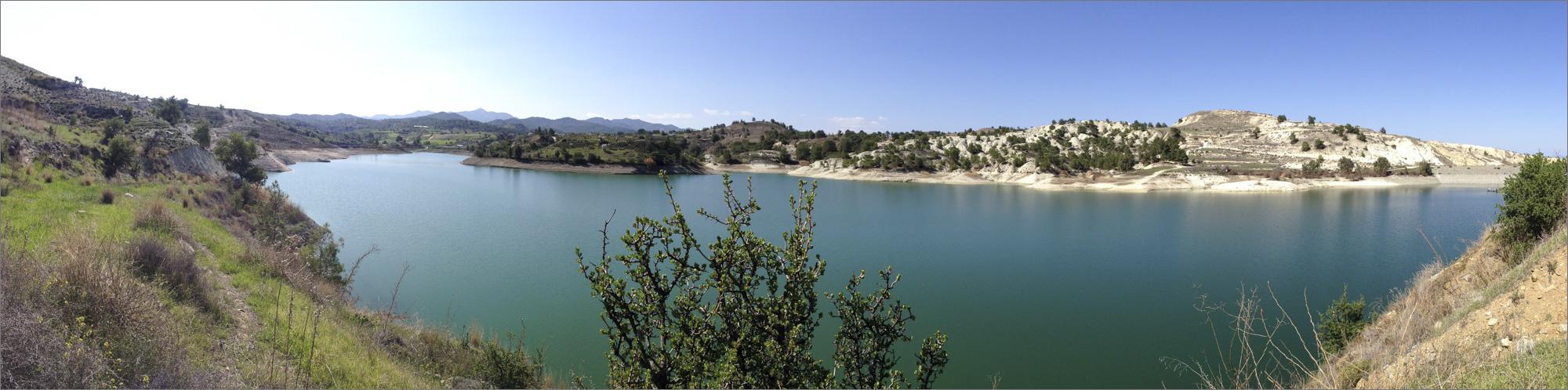 Tamassos Reservoir near Pera Orinis