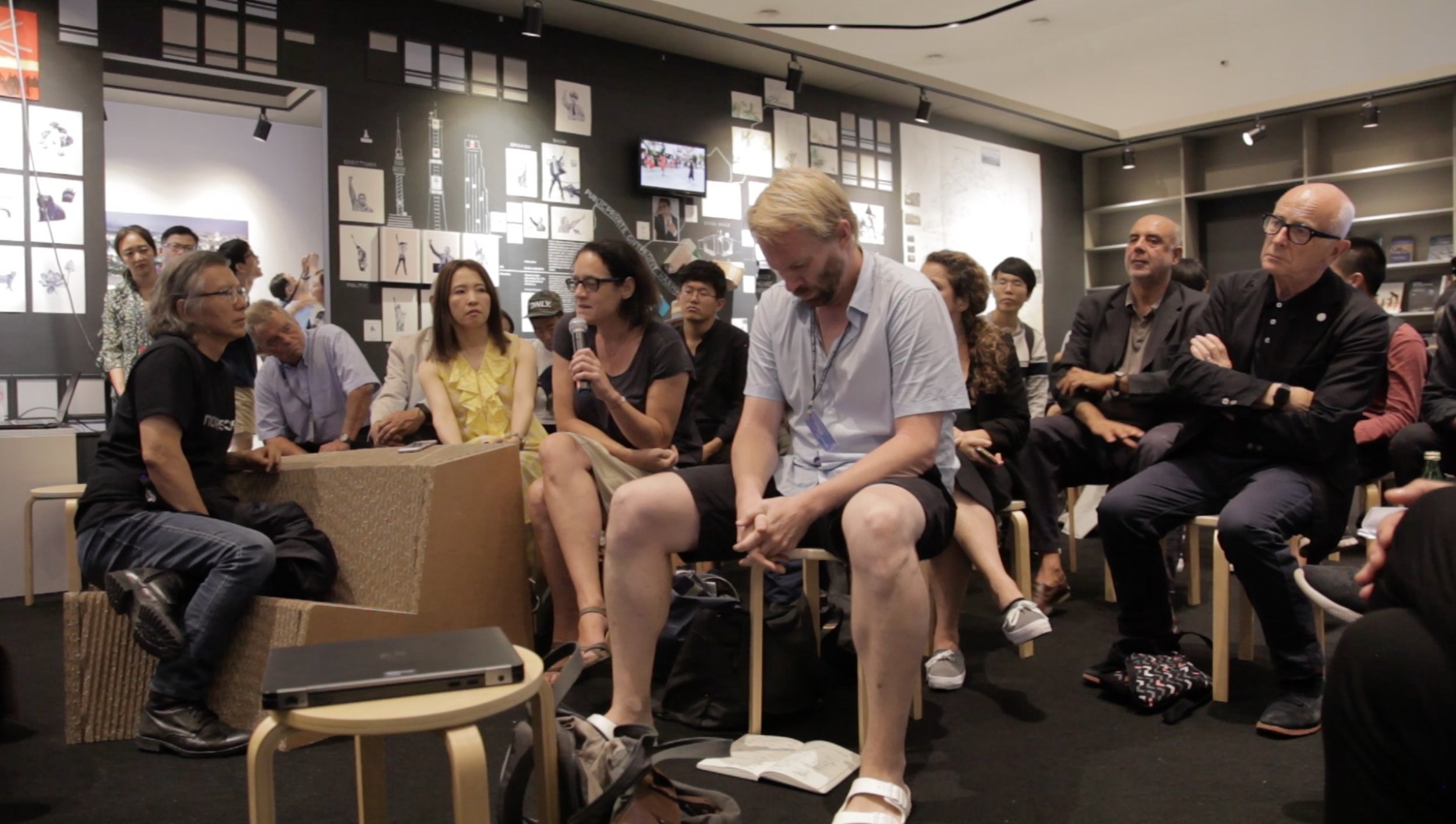 """Commoning Cities"" Exhibition Roundtable Talk"