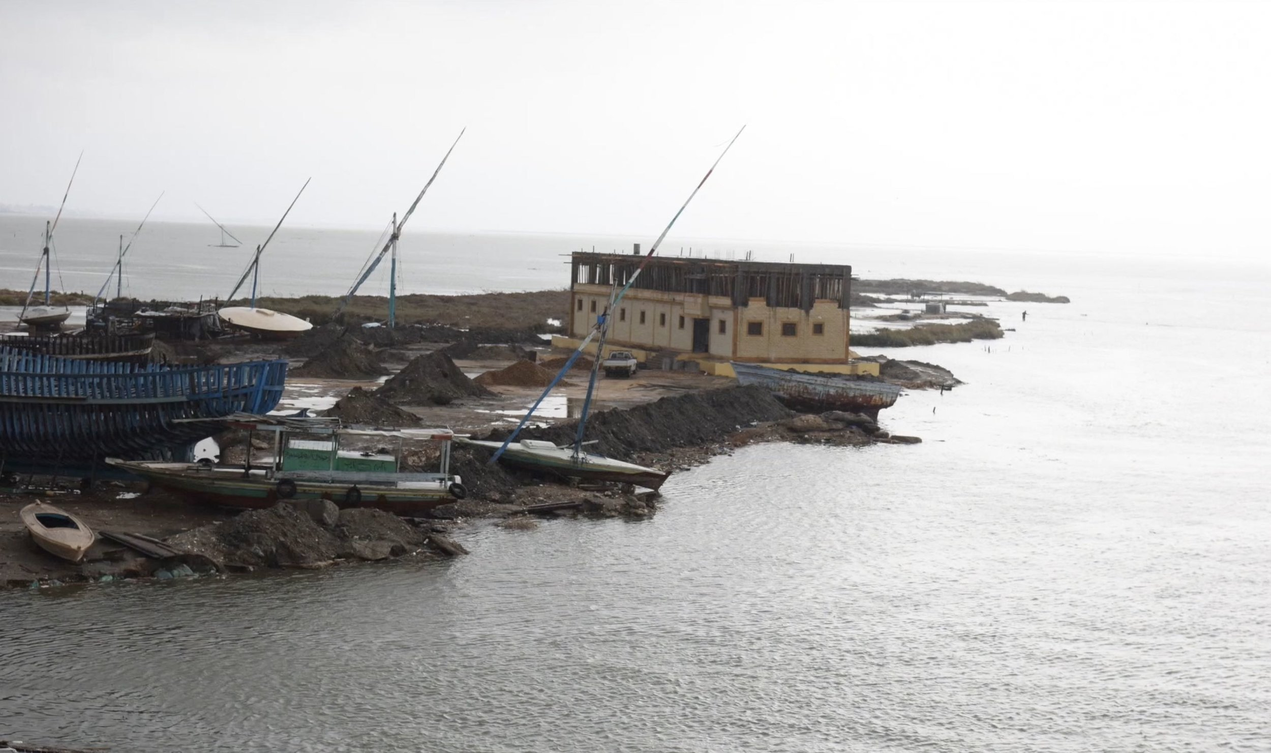 Extreme weather events and sea level rise also affects the lives of fishermen