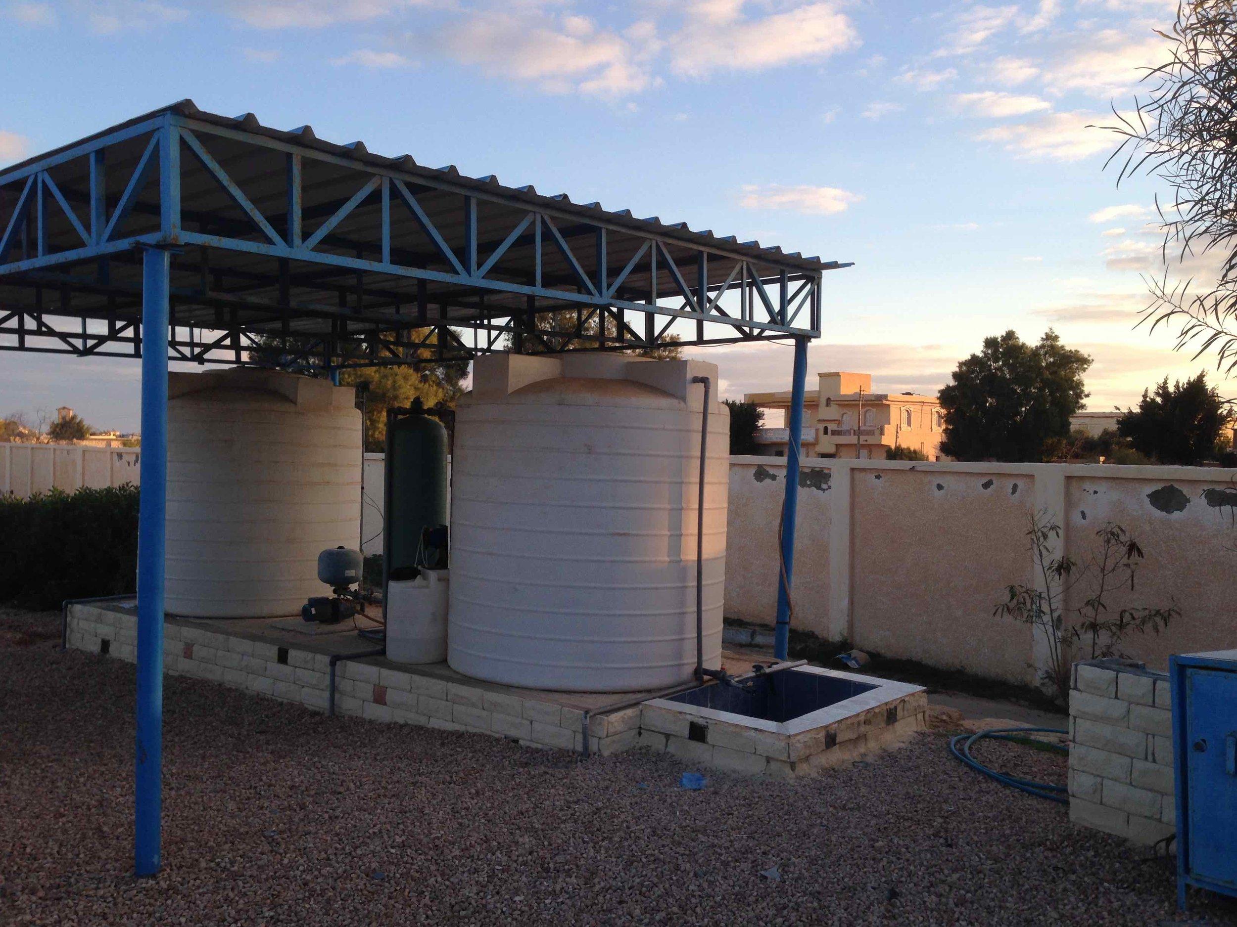Solar-powered portable desalination