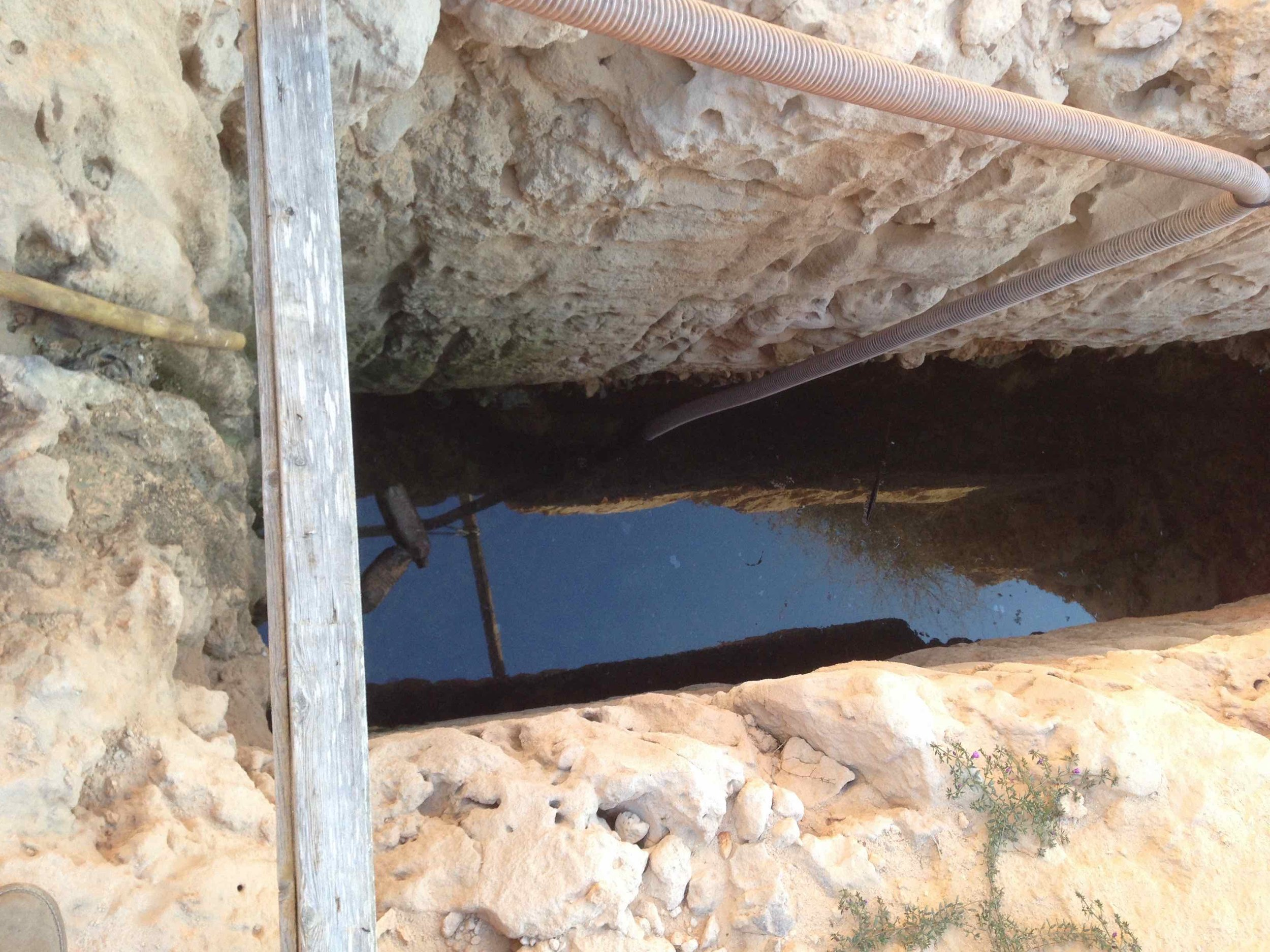 New cisterns for water collection