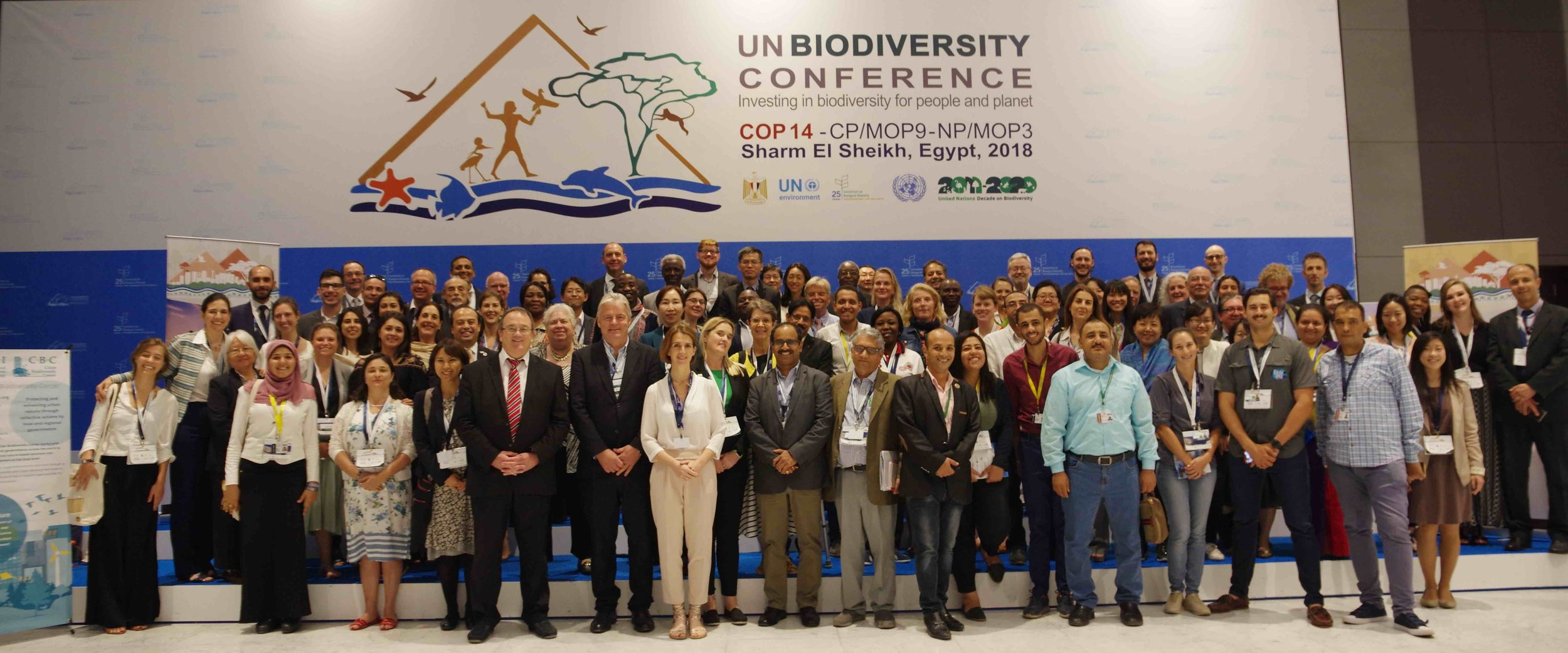 Delegates for the 6th Global Biodiversity Summit of Local and Subnational Governments