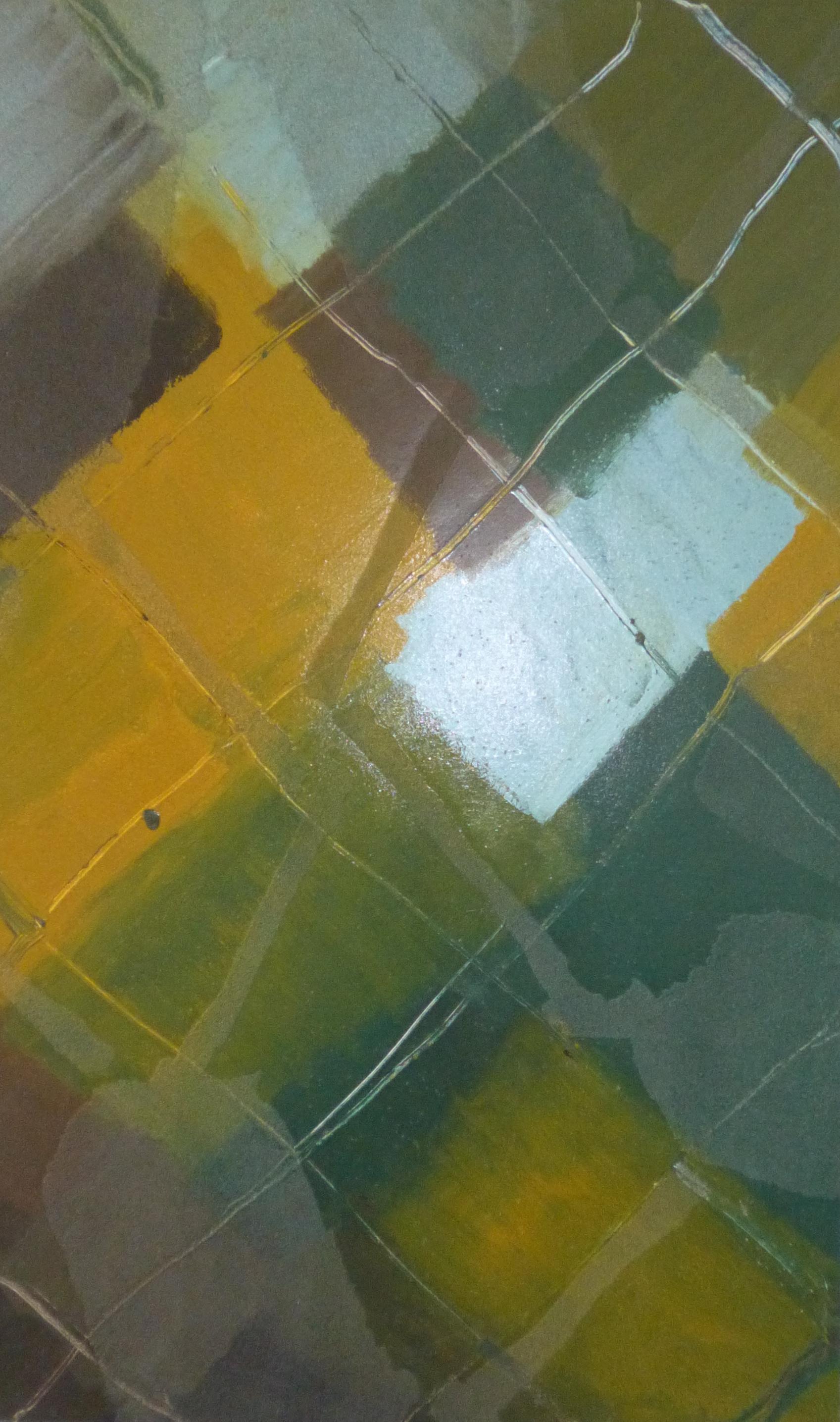 29.Plenér, 2014, kombinovaná technika, 100,5 x 101