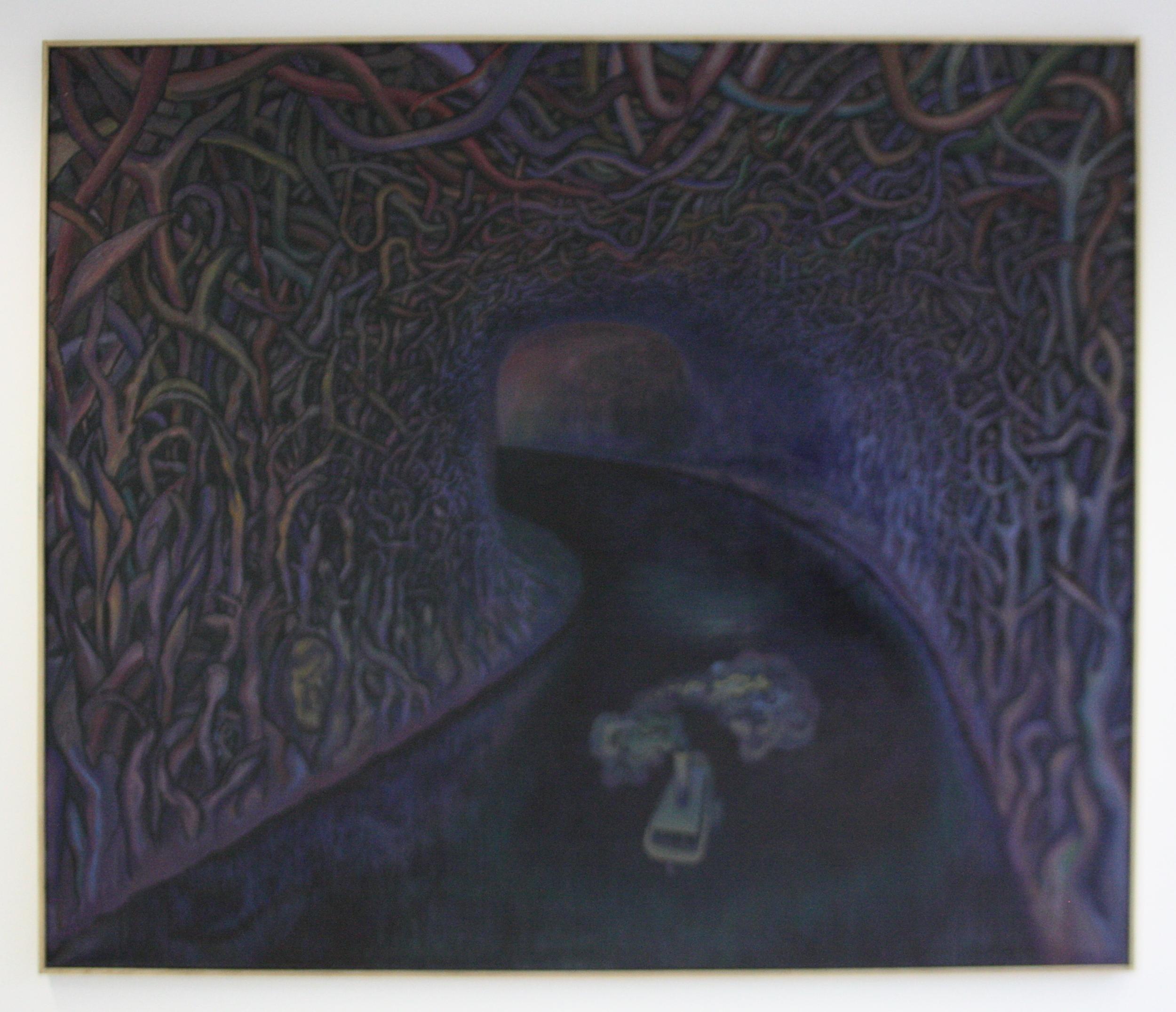 Jaroslav Róna, Srdce temnoty, 2012, 170 x 200, olej na pl.
