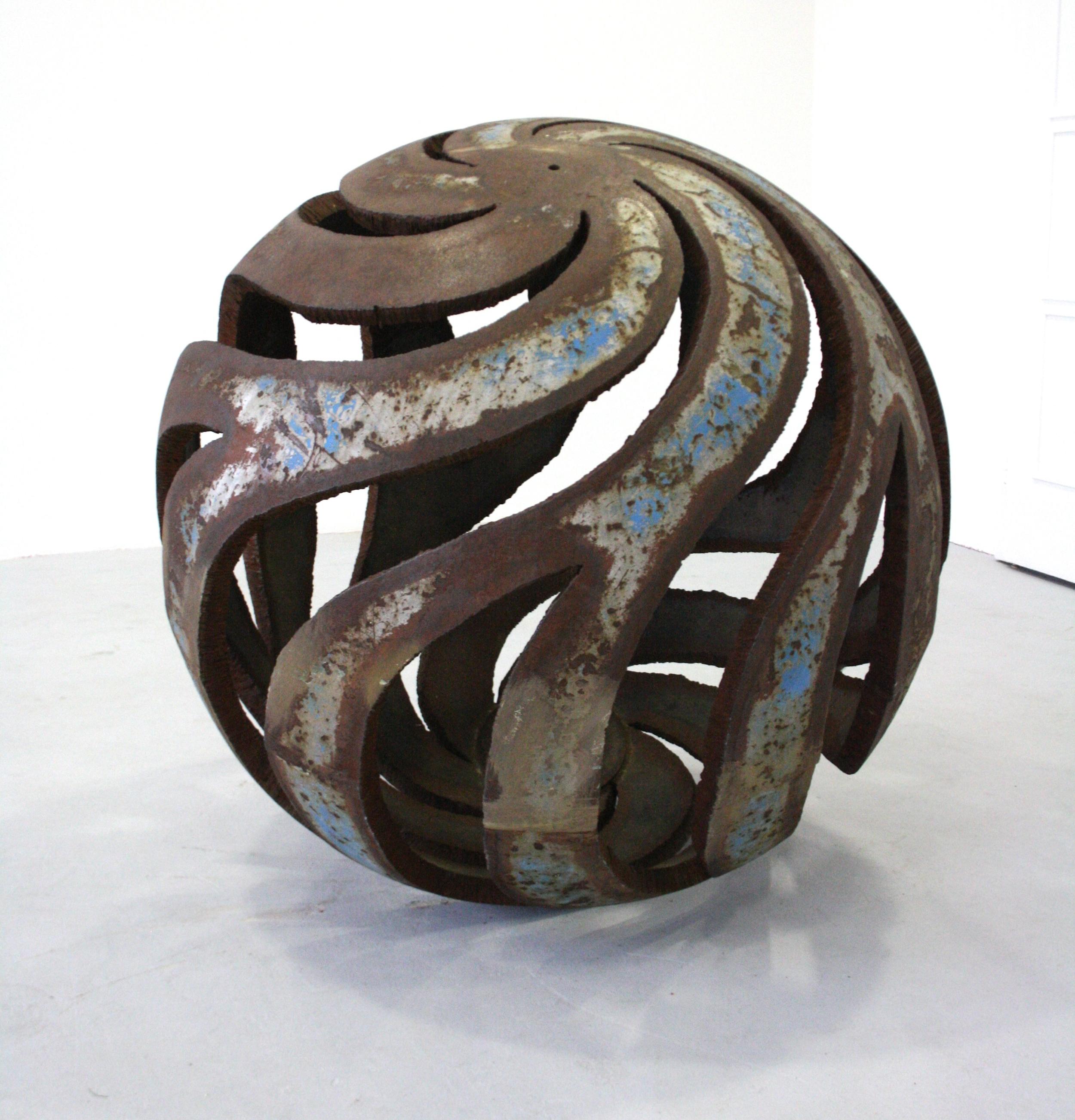 Čestmír Suška, Květy, 2013, průměr 95 cm, ocel
