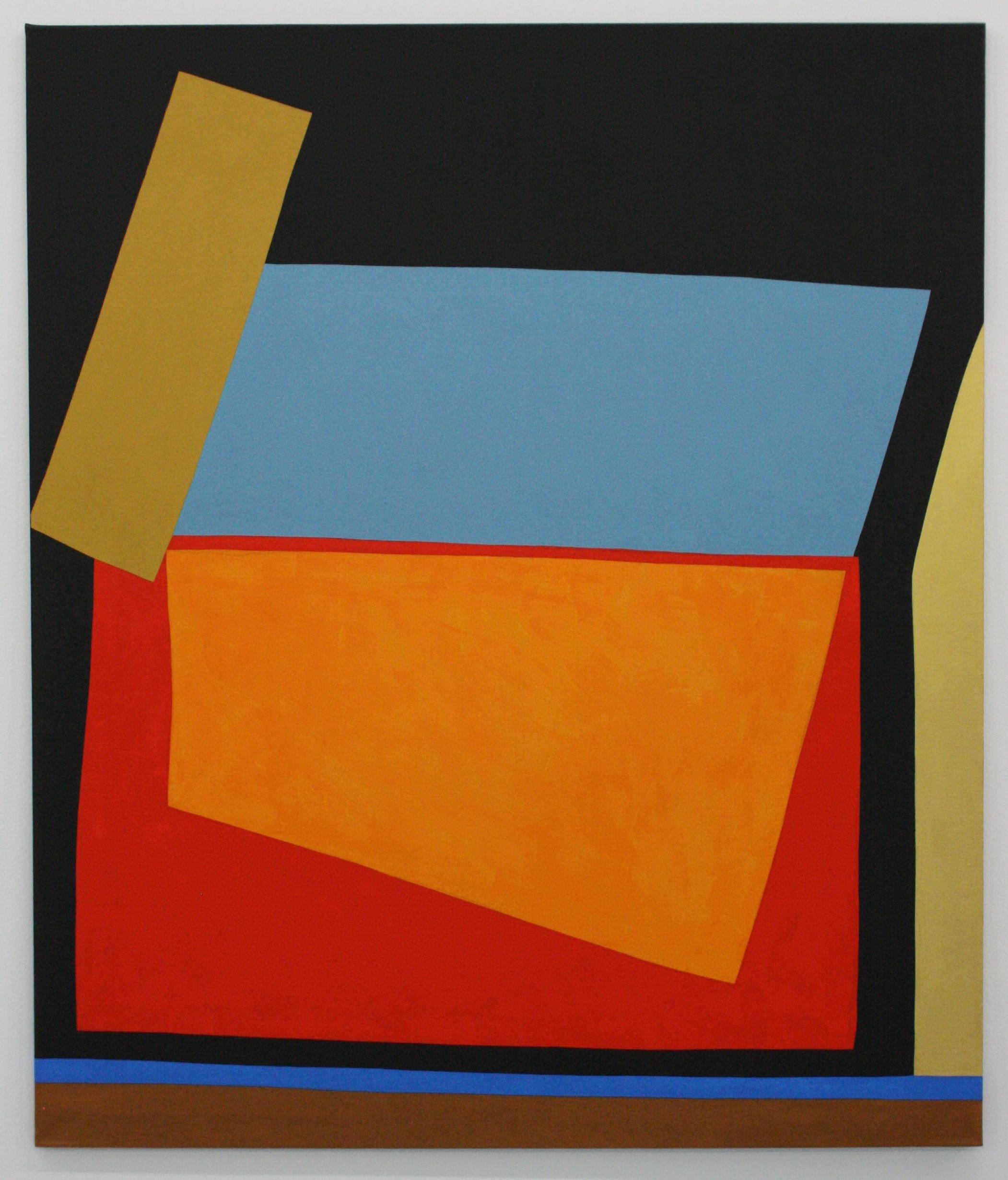 Stanislav Diviš, Barevná geometrie č. 14, 2013/III, 135 x 115 cm, acr. pl.