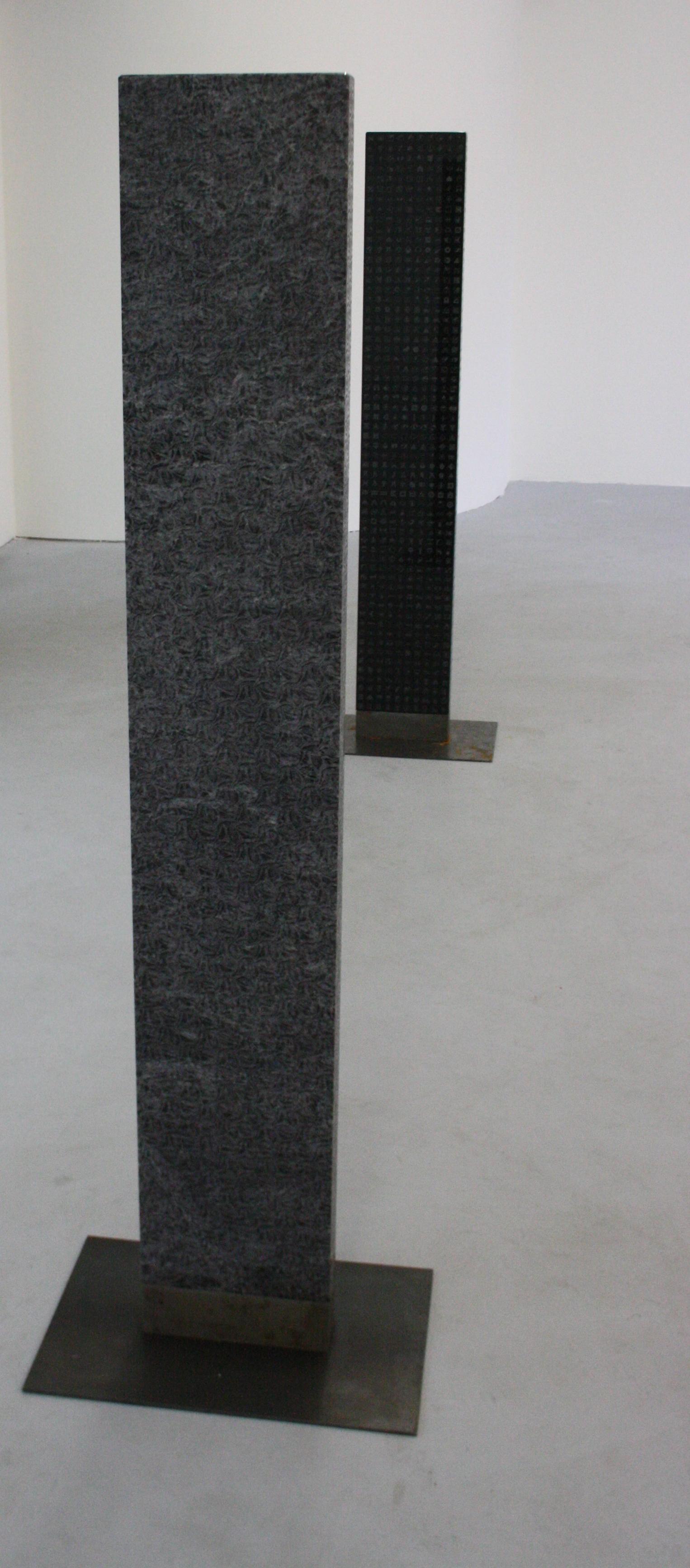 Zdeněk Lhotský, Stéla 2, 2008-2010, sklo, 27 x 157 x 7 cm