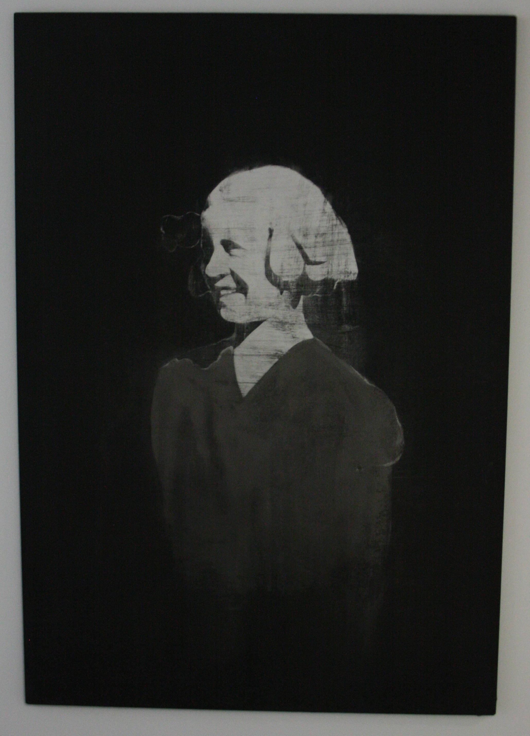 Petr Nikl, Sluncem zalitá, 2015, 136 x 195 cm, olej na pl., hliníkový pigment