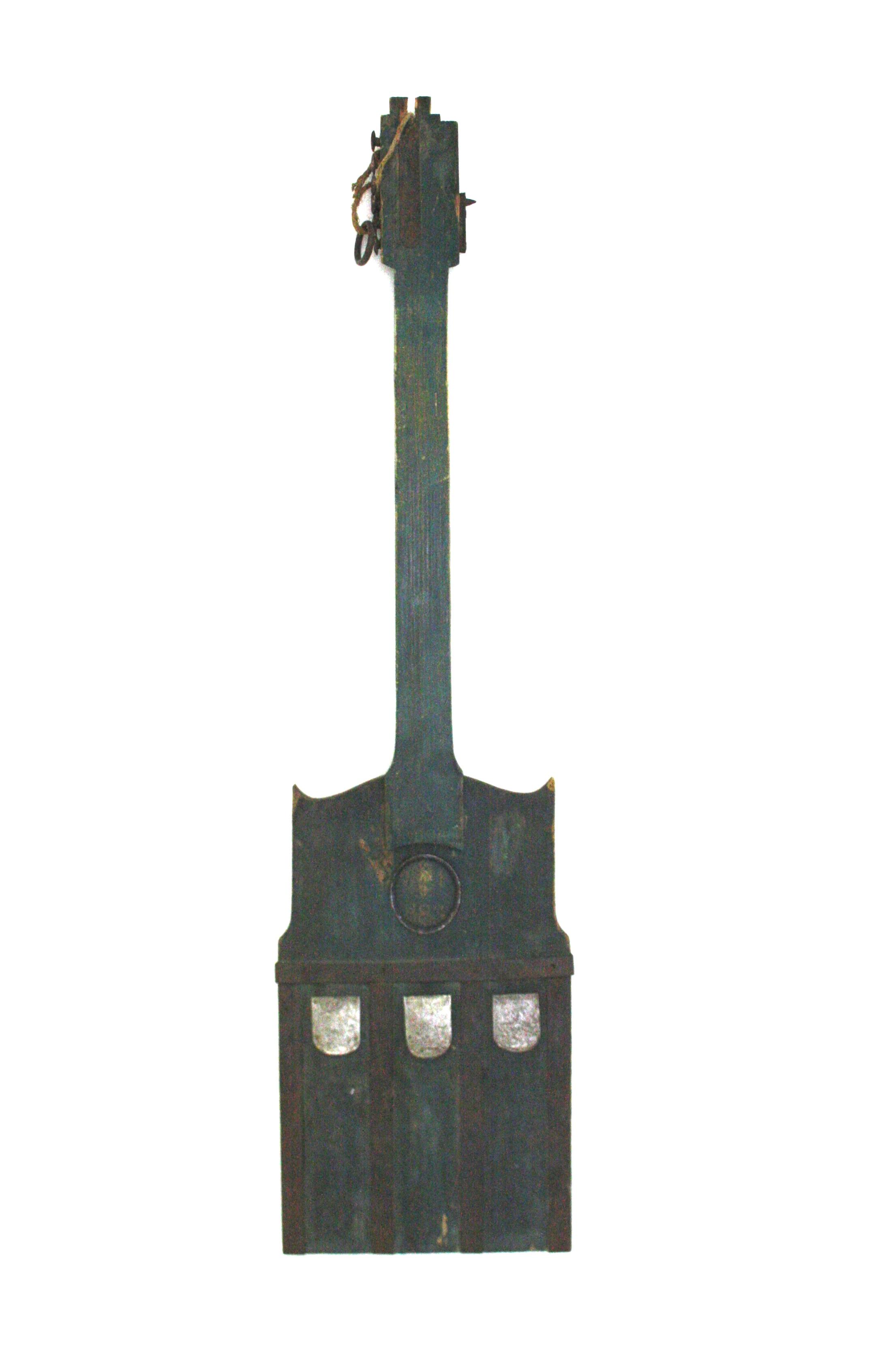 František Skála, Kytara CK decimal, 2012, 118 x 30 x 4 cm, dřevo