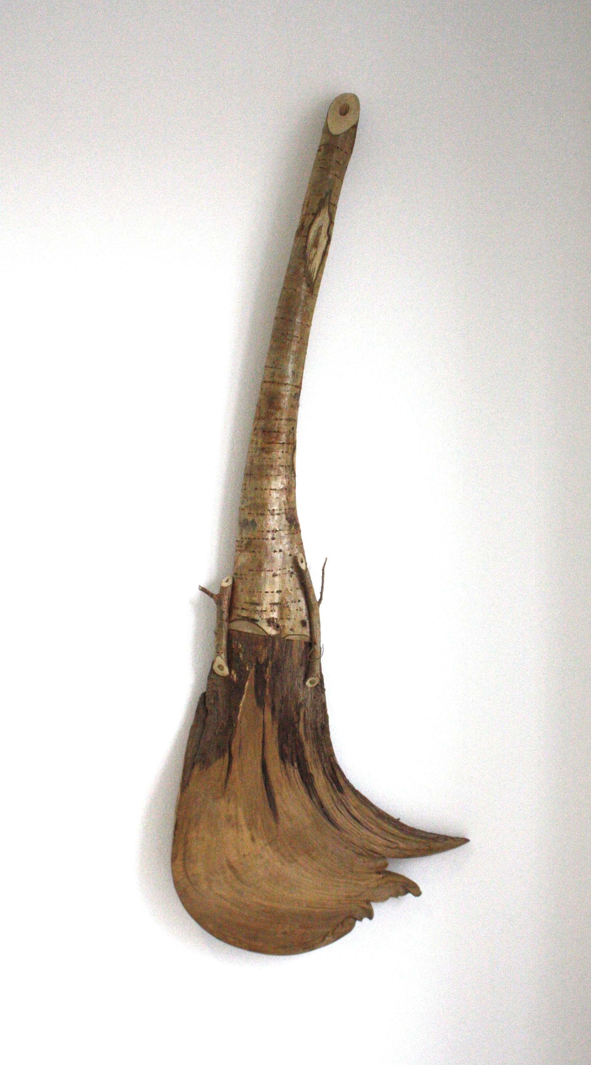 František Skála, Kytara Oak brush, 2012, dřevo