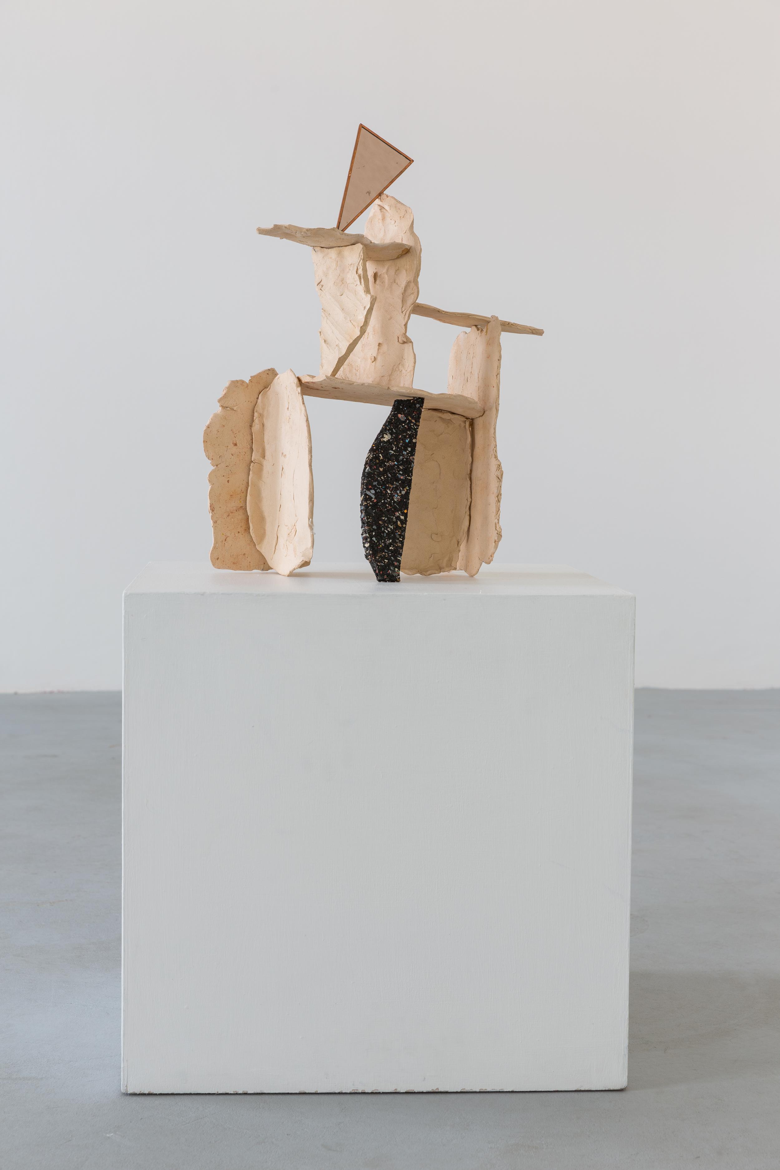 Matyáš Chochola, Olbram stalagnátor kvitky hitleroid, 2015, keramika, 53 x 27 x 20 cm